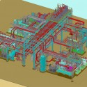 Petrochemical plant design Ammonia refrigeration unit